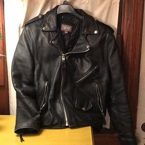 Wilsons Leather motorcycle jacket large